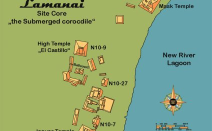 GtB Map of the Mayan Site