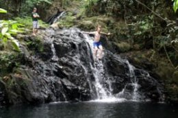 Antelope Falls, Belize pool