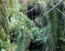 Bocawina zipline in Belize
