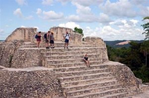 Caracol ruins, Belize