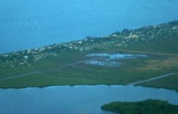 Flying into Dangriga