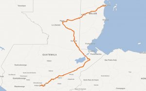 Travel from Guatemala to Belize