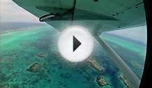 The Great Blue Hole Belize, Central America Aerial Tour